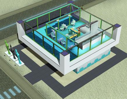 Actualit s et v nements communaut les sims 3 for Sims 3 salon moderne